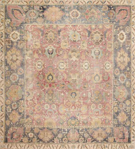 Try this Large Antique 17th Century Square Rug.