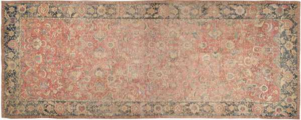 Antique Isfahan Rug from the 17th century.