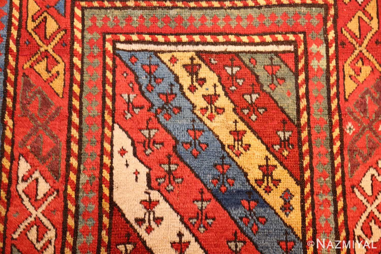 antique caucasian genghi prayer rug 49096 design Nazmiyal