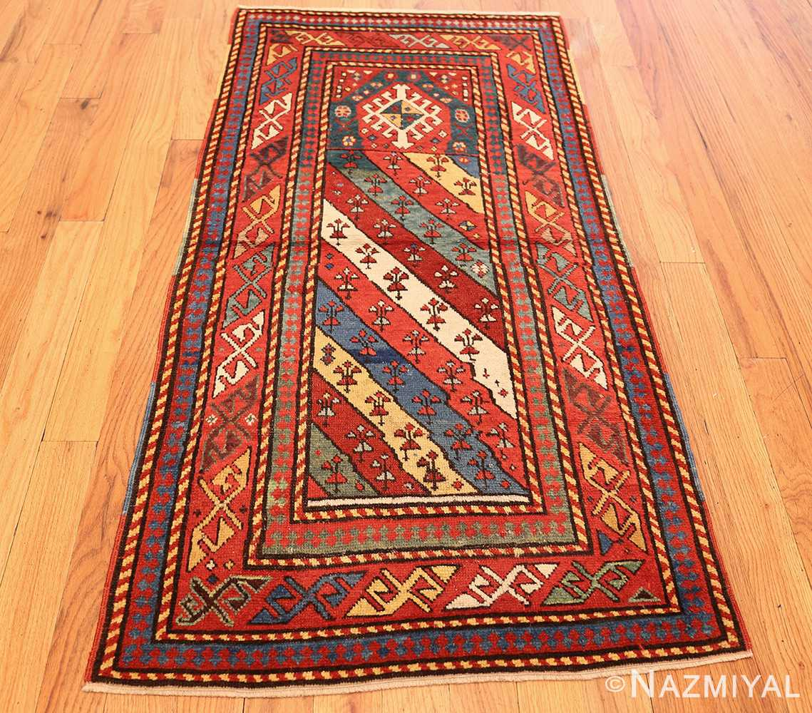 Prayer Rug Types: Antique Caucasian Prayer Rug 49096 By Nazmiyal