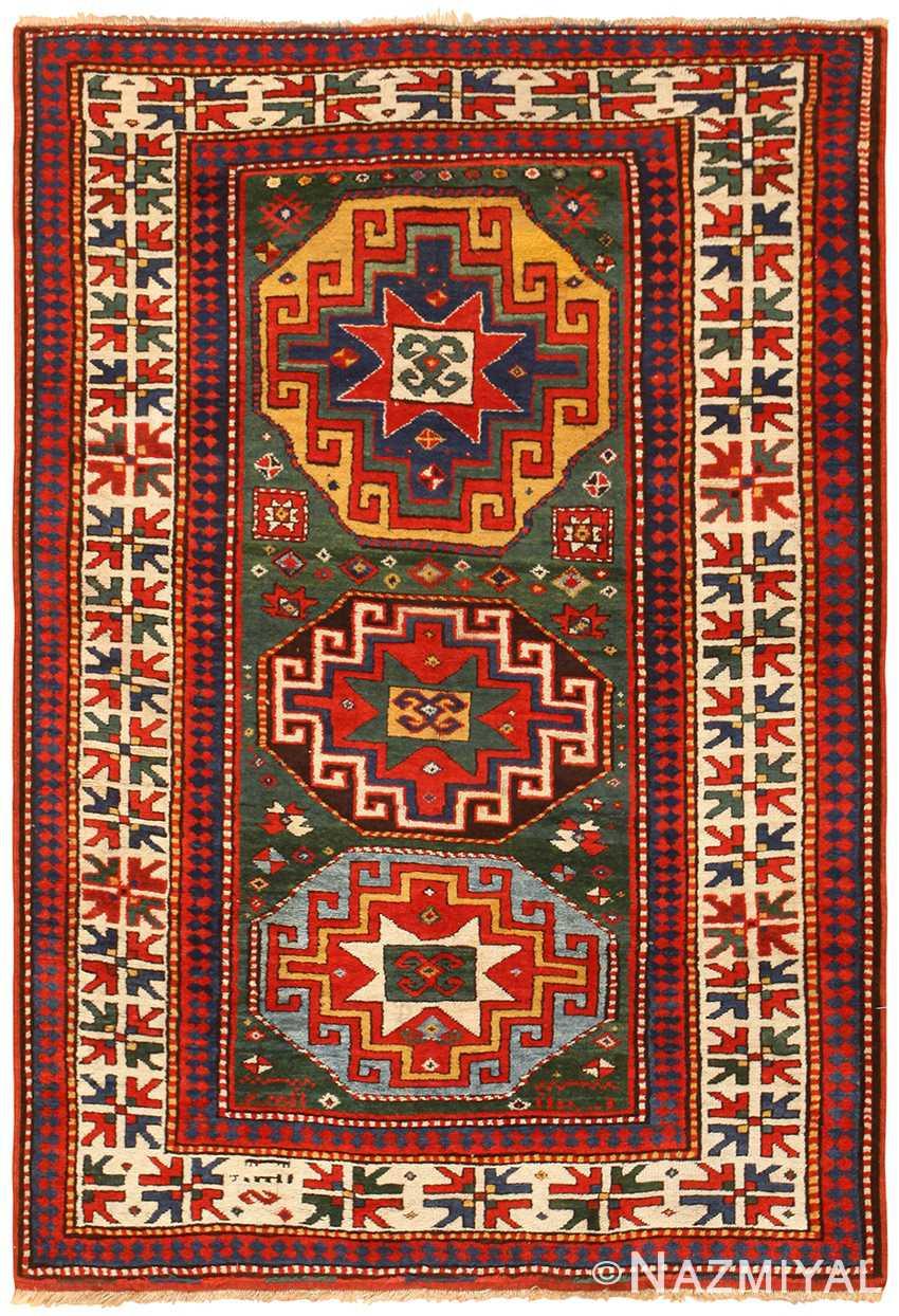 Antique Caucasian Kazak Rug 49095
