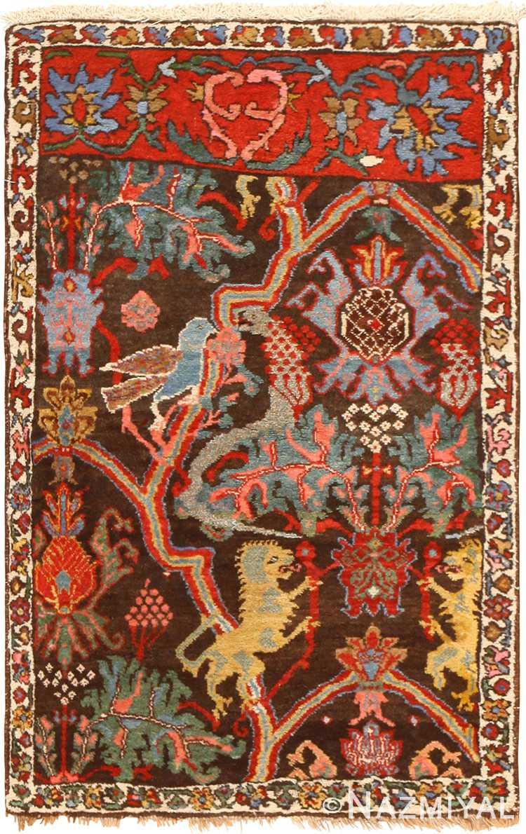 Antique Persian Bidjar Sampler 49097