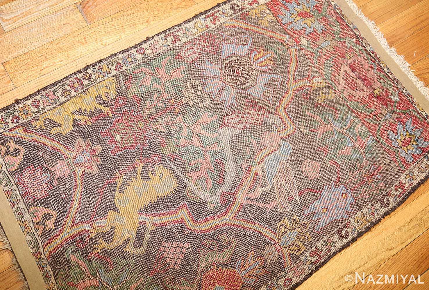 antique persian bidjar sampler rug 49097 back Nazmiyal