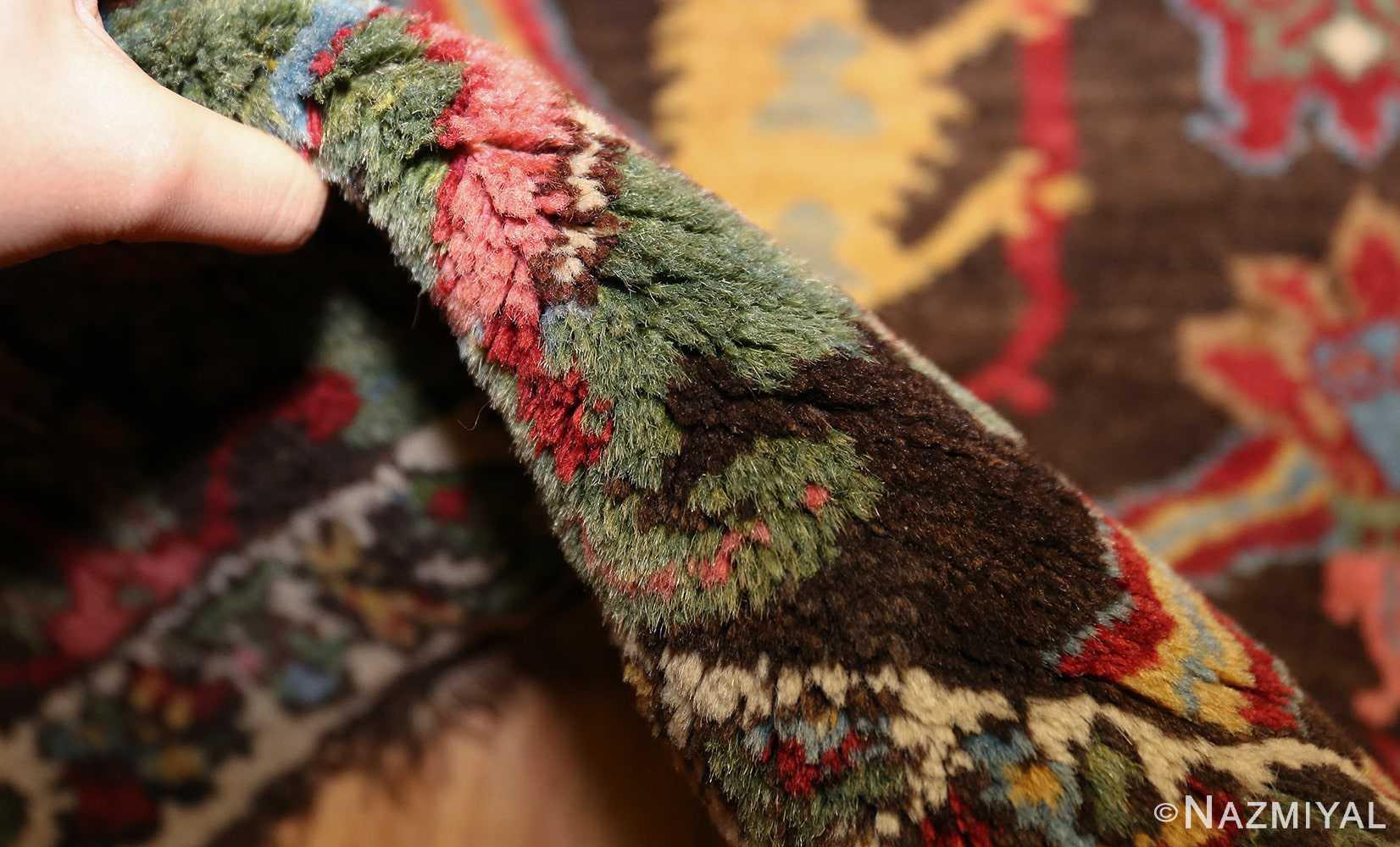 antique persian bidjar sampler rug 49097 pile Nazmiyal