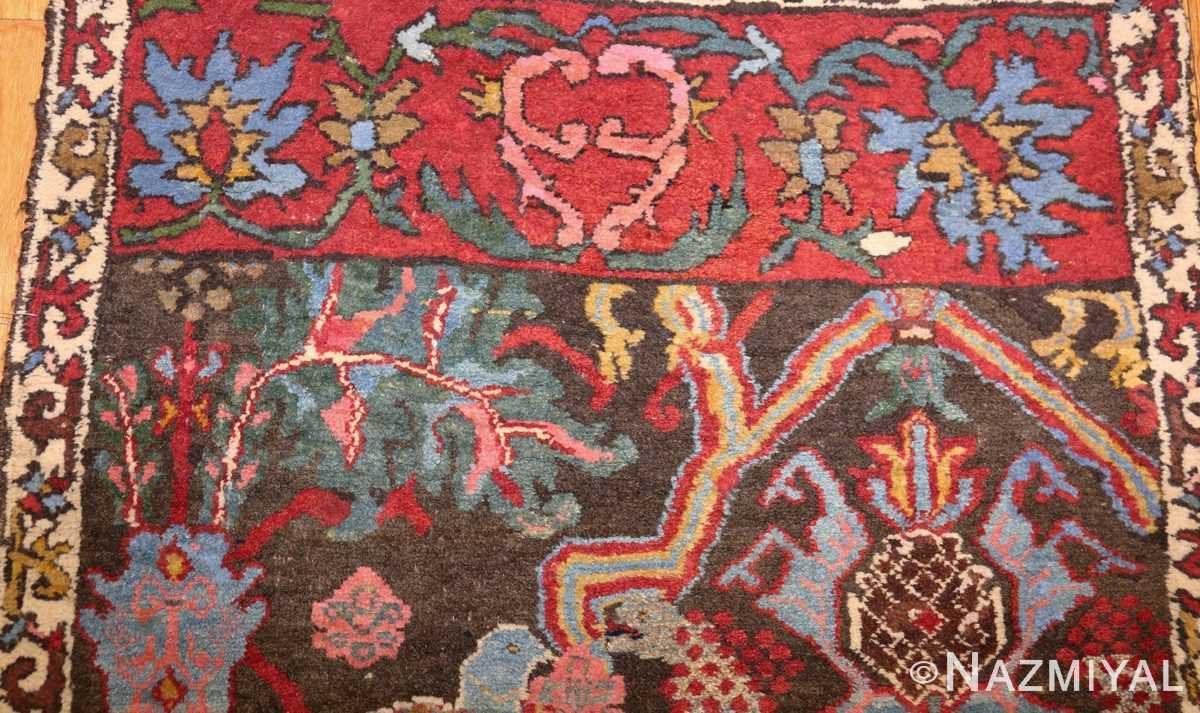antique persian bidjar sampler rug 49097 top Nazmiyal