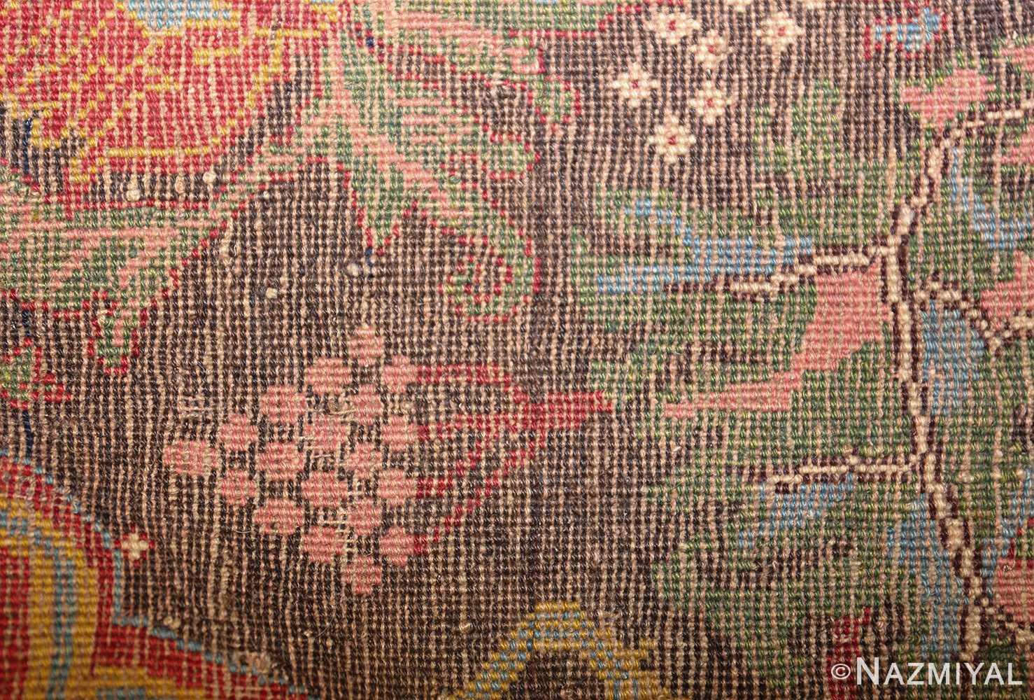 antique persian bidjar sampler rug 49097 weave Nazmiyal
