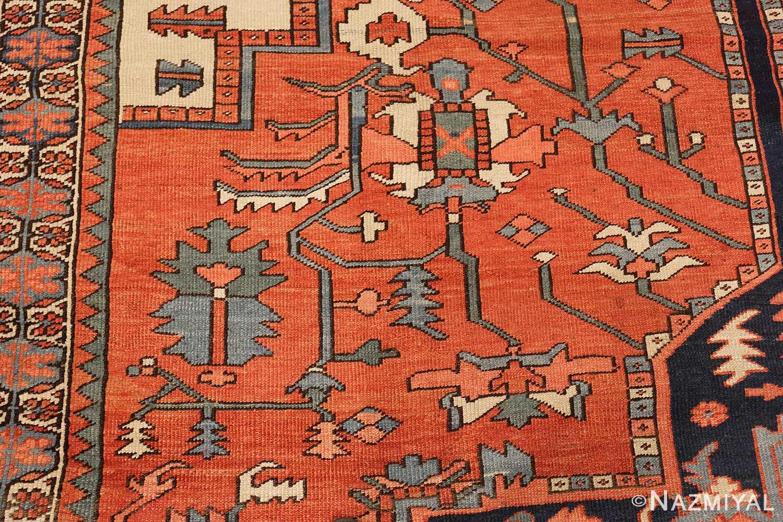 antique persian heriz serapi rug 48632 design Nazmiyal