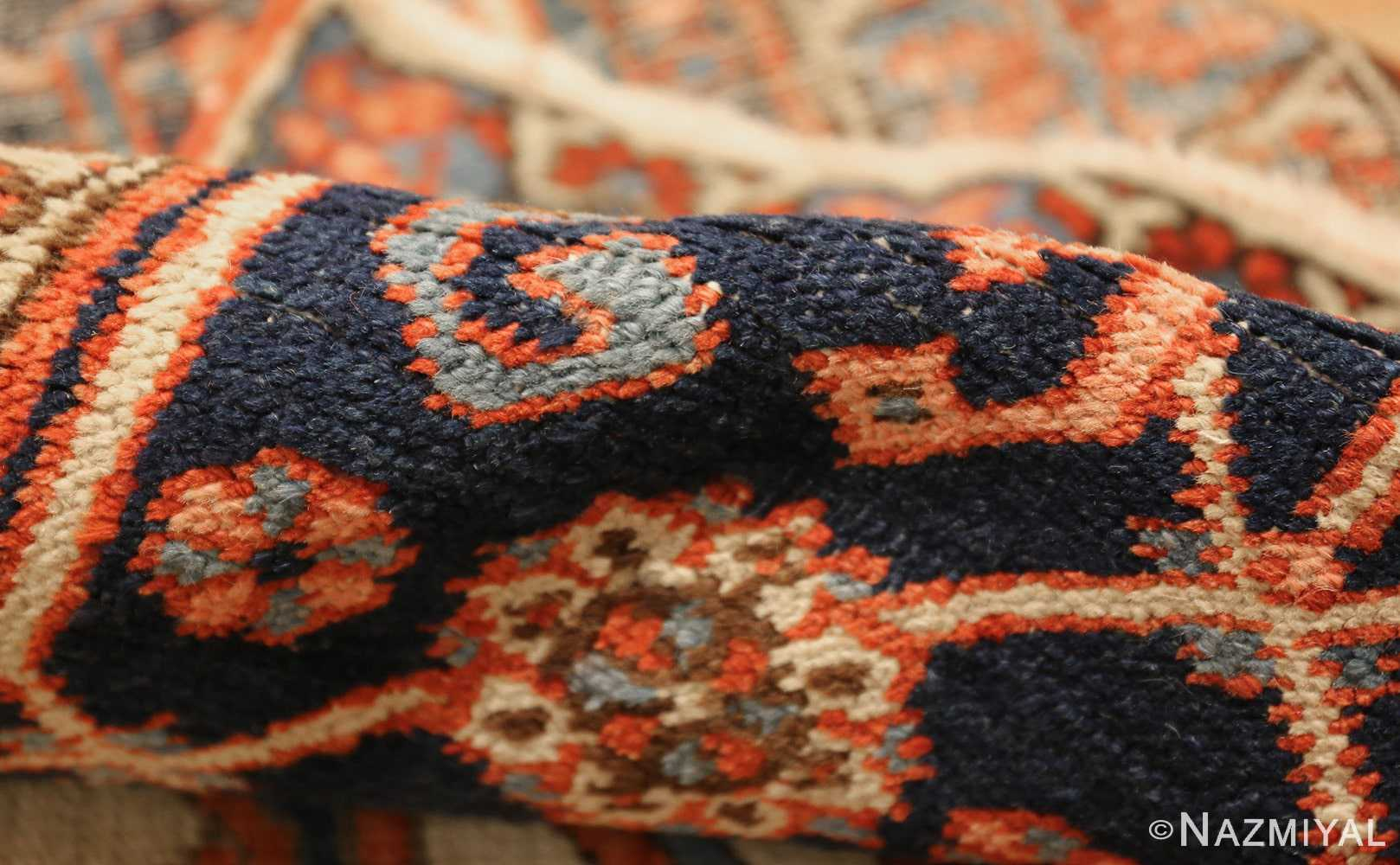 antique persian heriz serapi rug 48632 pile Nazmiyal