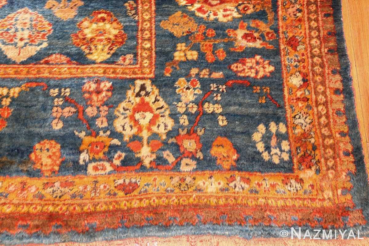 breathtaking light blue angora oushak rug 49111 corner Nazmiyal