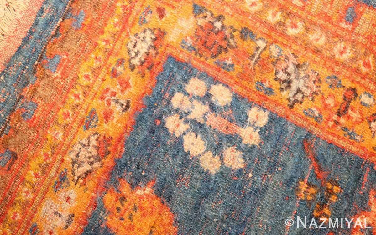 breathtaking light blue angora oushak rug 49111 weave Nazmiyal