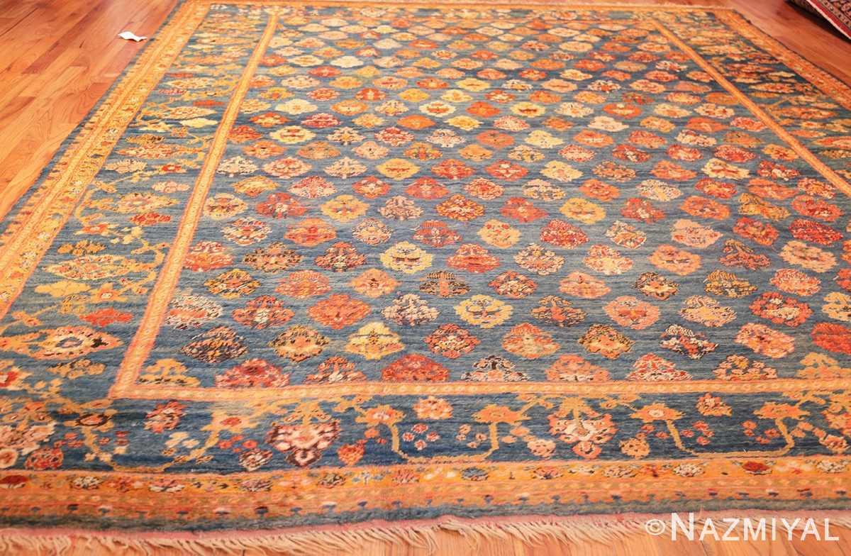 breathtaking light blue angora oushak rug 49111 whole Nazmiyal