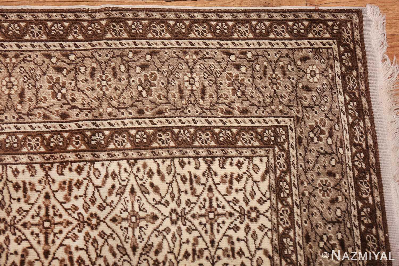 fine decorative antique turkish sivas rug 50185 corner Nazmiyal