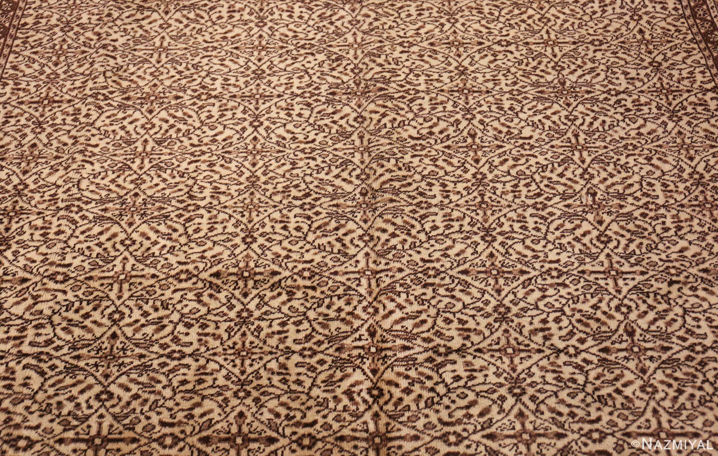 fine decorative antique turkish sivas rug 50185 field Nazmiyal