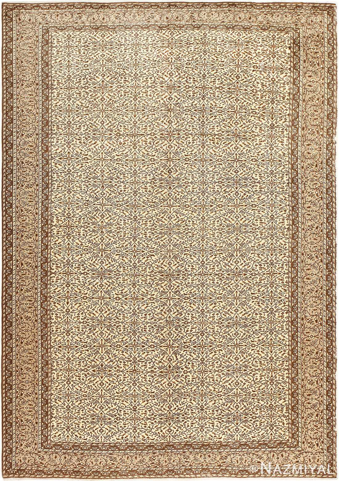Fine Decorative Antique Turkish Sivas Rug 50185 by Nazmiyal