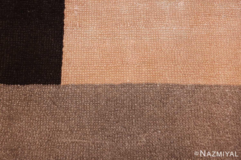 french art deco rug by ivan da silva bruhns 49081 black Nazmiyal