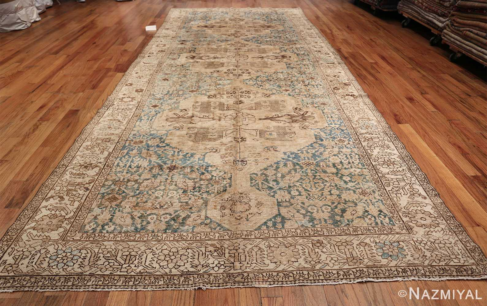 Gallery Size Shabby Chic Antique Persian Malayer Rug 50543 Whole Design Nazmiyal