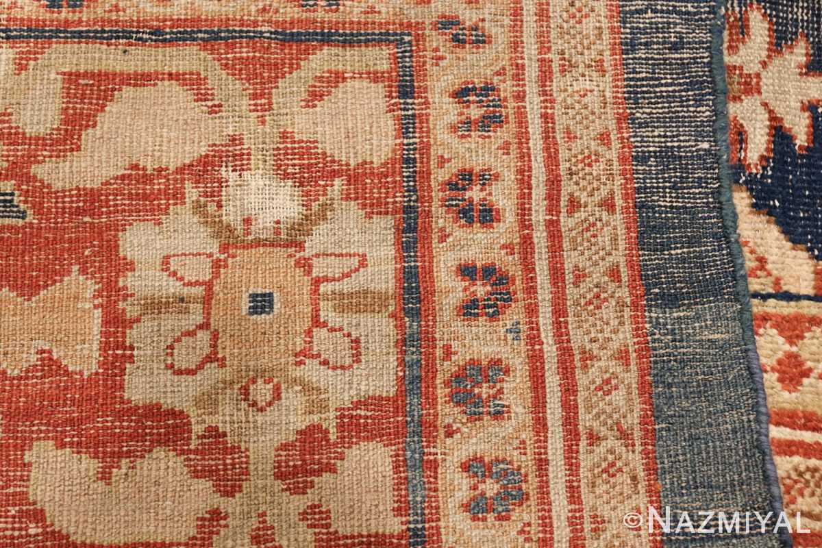 large light blue shabby chic antique sultanabad rug 49046 weave Nazmiyal