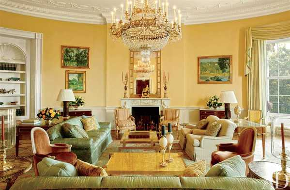 Michael Smith interior designer for the Yellow Oval Room