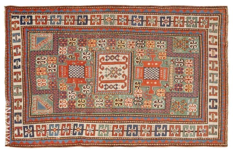 Antique Kazak Caucasian Rug Nazmiyal