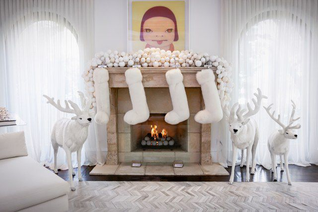 Kris Jenner's House Decorated For Christmas by Nazmiyal