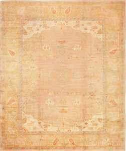 Large Decorative Antique Turkish Oushak Rug 49165