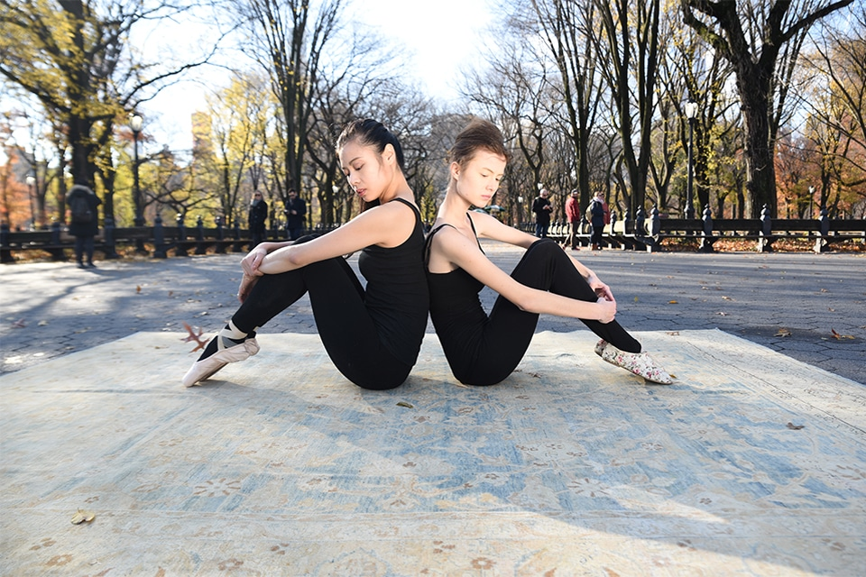 Nazmiyal Antique Rugs Loves NYC New York Central Park Ballet