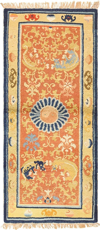 New Years Home Decor: Antique Chinese Carpets For A Roaring New Years
