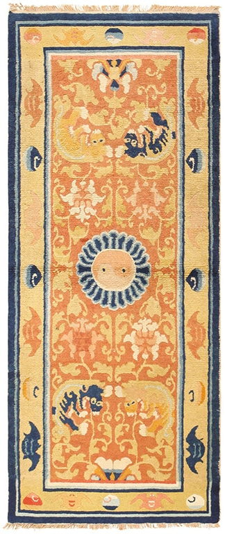 New Years Home Decor: Antique Chinese Carpets Make A Statement