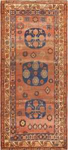 Small Antique Shabby Chic Khotan Rug 49151