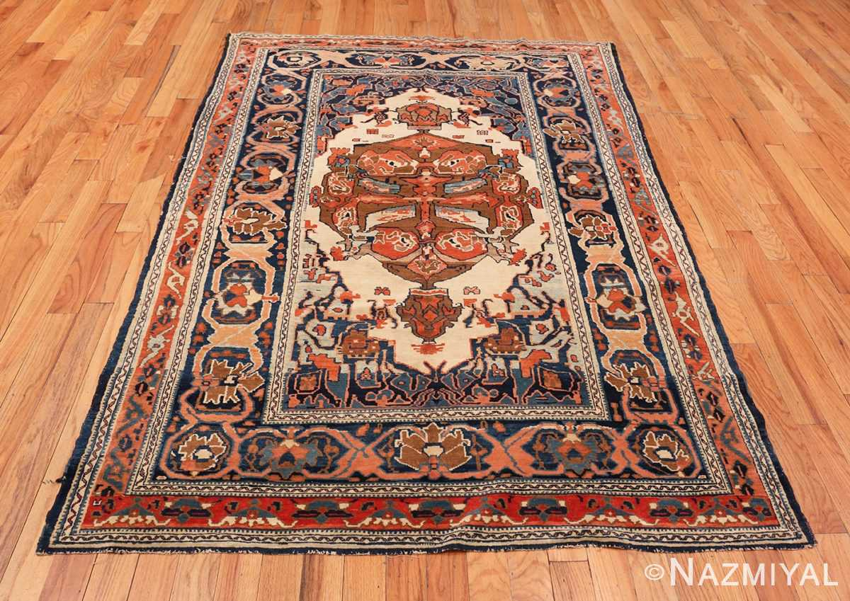 Picture of the whole of the Antique Tribal Persian Bakshaish Rug 49156