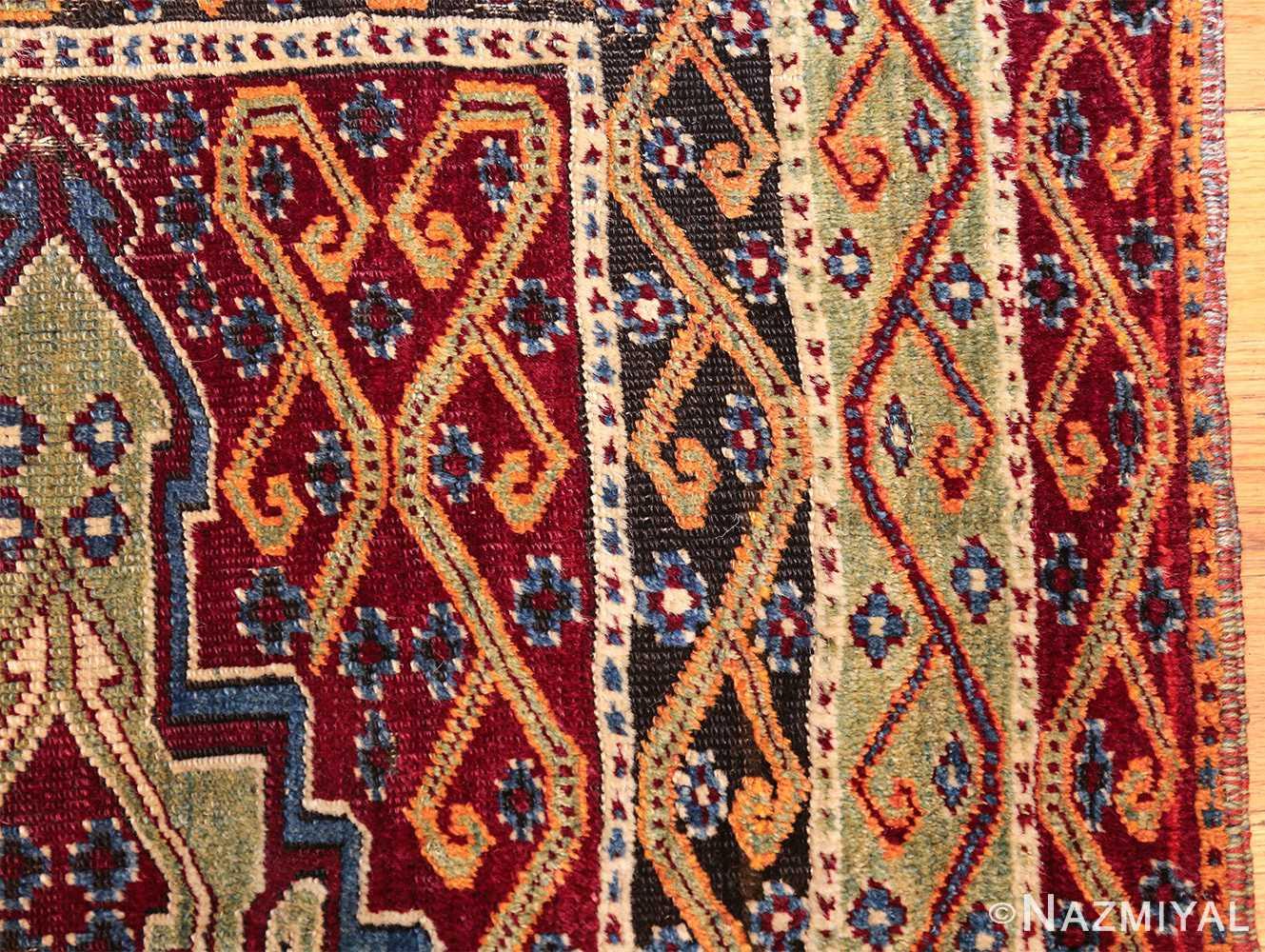 antique east anatolian turkish prayer rug 49101 border Nazmiyal