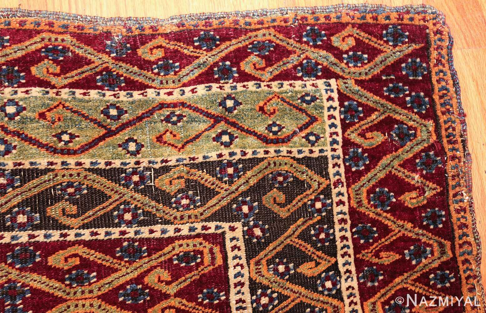 antique east anatolian turkish prayer rug 49101 corner Nazmiyal
