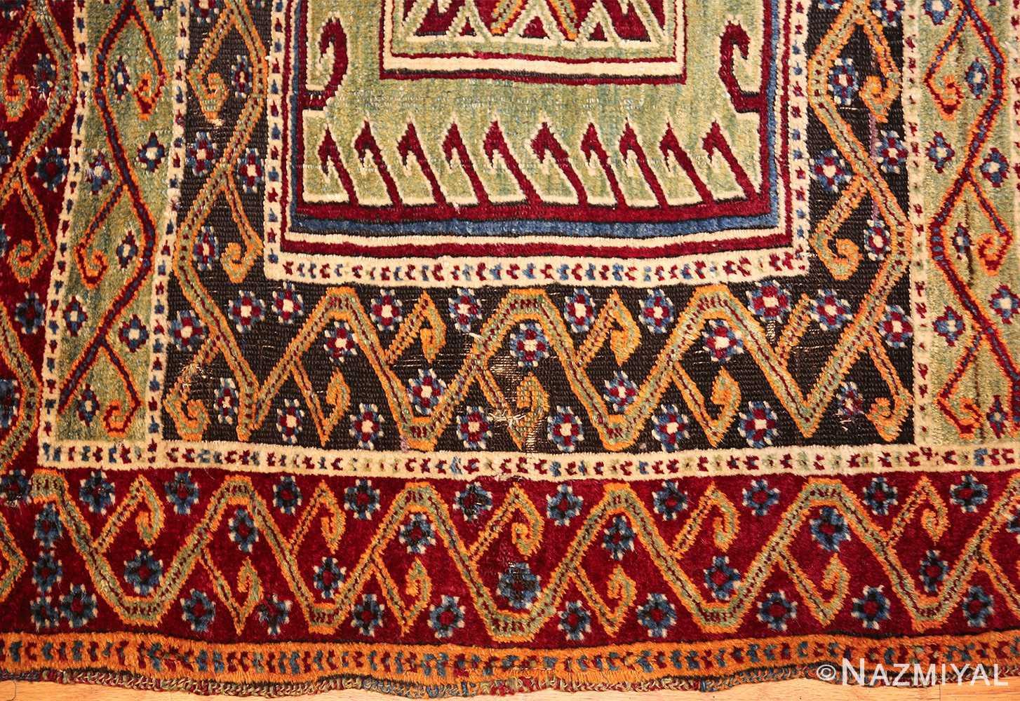 antique east anatolian turkish prayer rug 49101 down Nazmiyal
