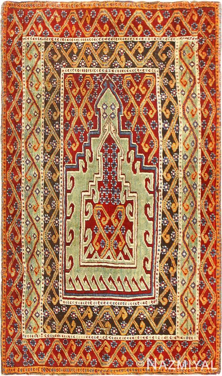 Antique East Anatolian Turkish Prayer Rug 49101