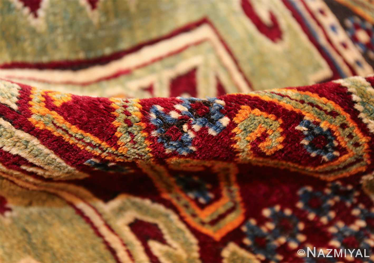 antique east anatolian turkish prayer rug 49101 pile Nazmiyal