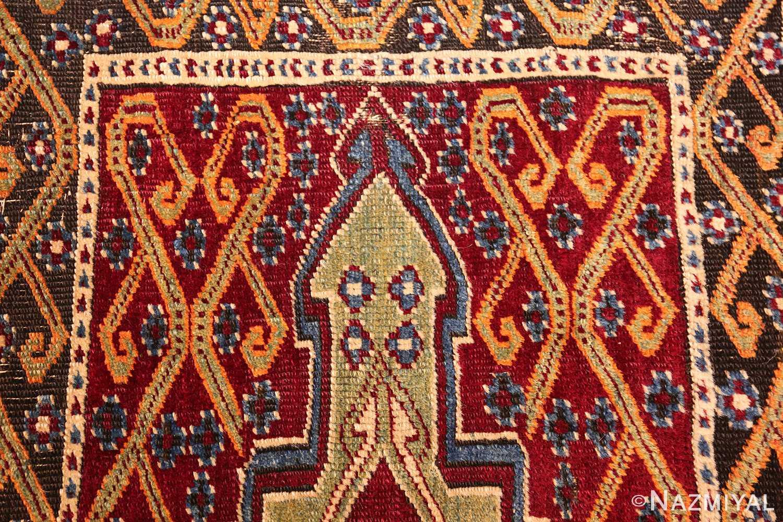 antique east anatolian turkish prayer rug 49101 tiara Nazmiyal