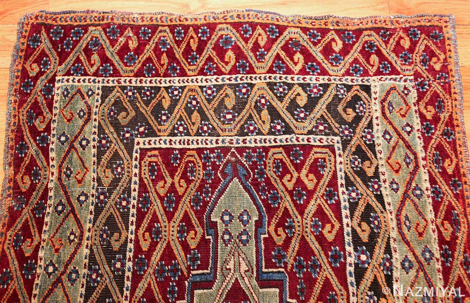 antique east anatolian turkish prayer rug 49101 top Nazmiyal