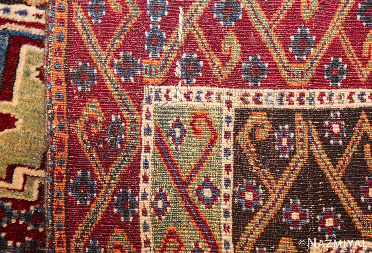 antique east anatolian turkish prayer rug 49101 weave Nazmiyal