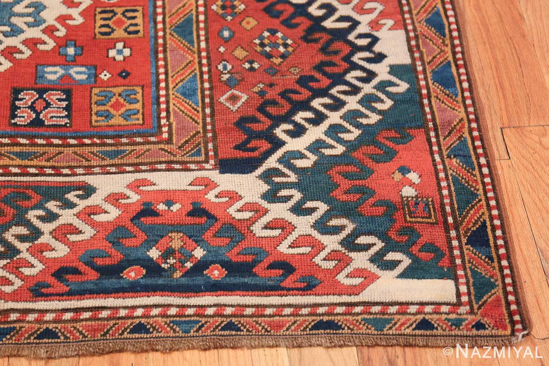 Antique Tribal Caucasian Borchalou Kazak Rug 49094 Side Design Nazmiyal