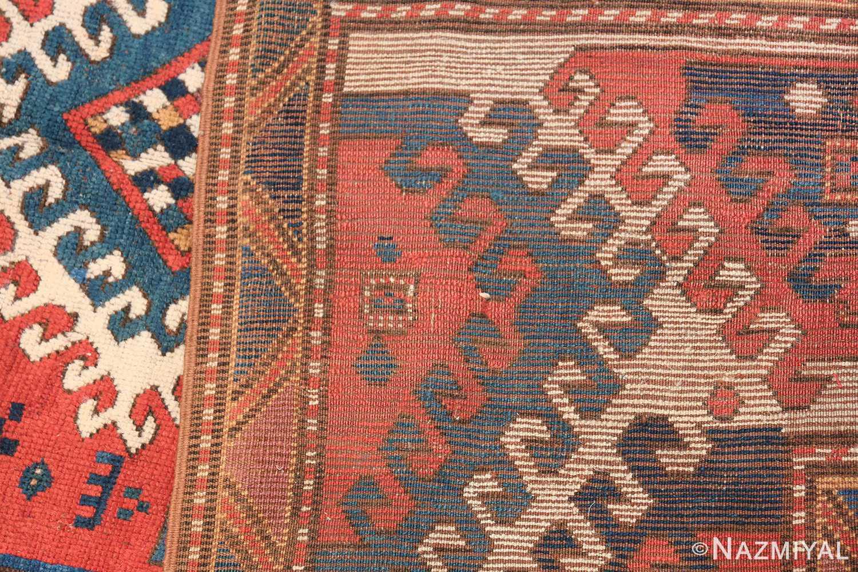 Antique Tribal Caucasian Borchalou Kazak Rug 49094 Woven Knots Nazmiyal