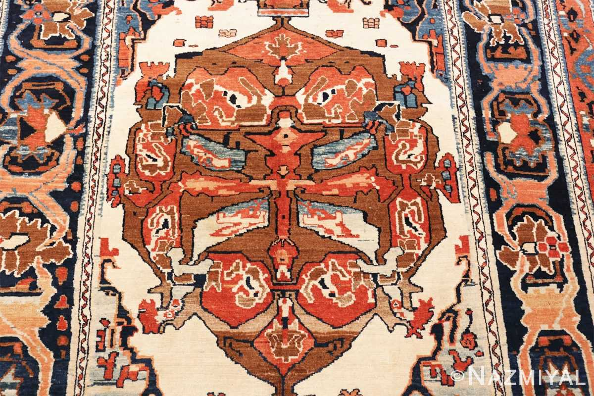 Picture of the design of the Antique Tribal Persian Bakshaish Rug 49156