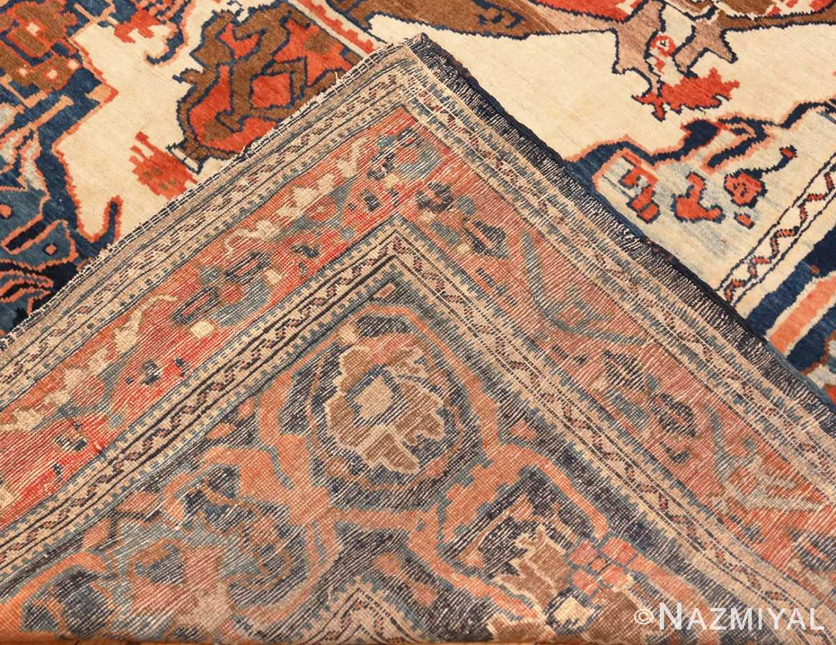 Picture of the weave of the Antique Tribal Persian Bakshaish Rug 49156