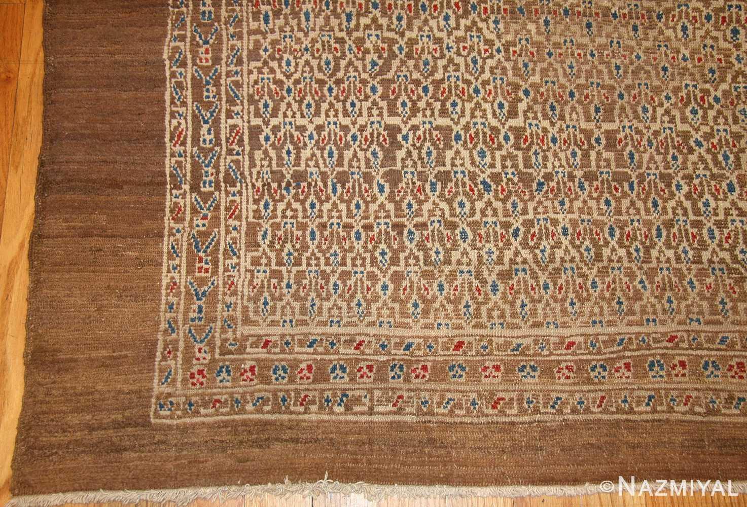 antique tribal persian bakshaish rug 49174 corner Nazmiyal