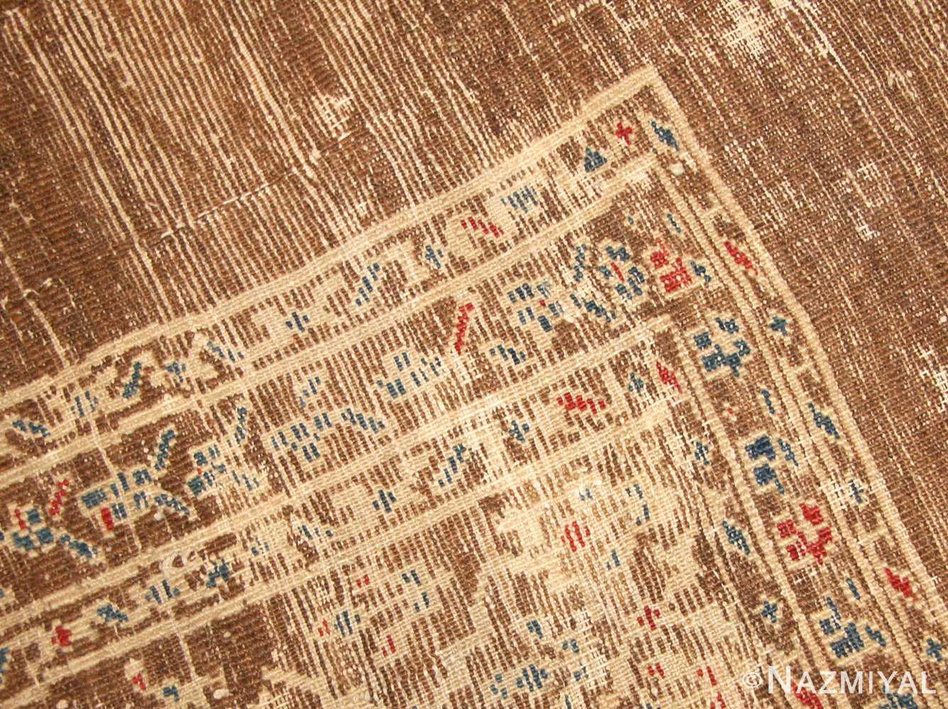 antique tribal persian bakshaish rug 49174 weave Nazmiyal