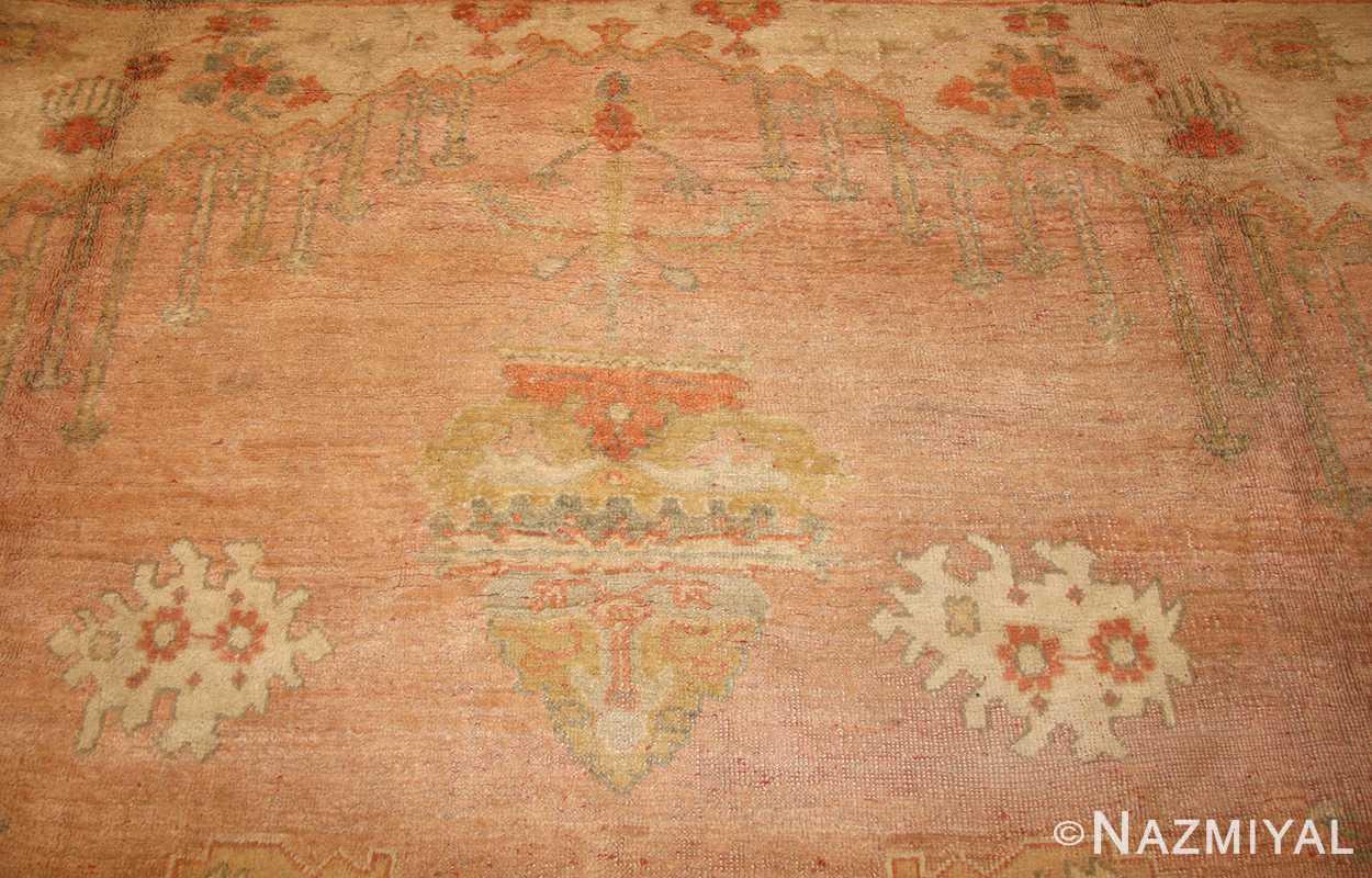 decorative antique turkish oushak rug 49165 top nazmiyal