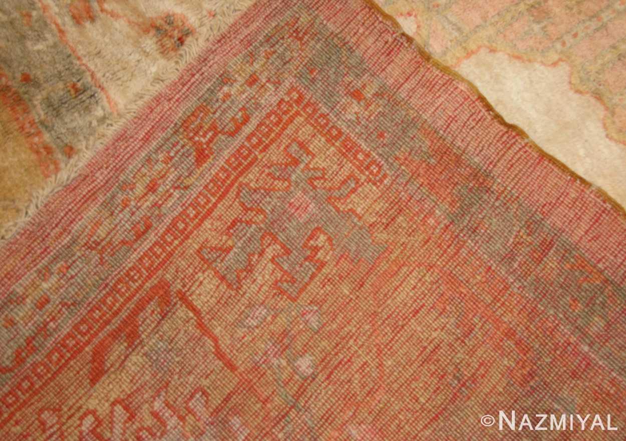 decorative antique turkish oushak rug 49165 weave nazmiyal