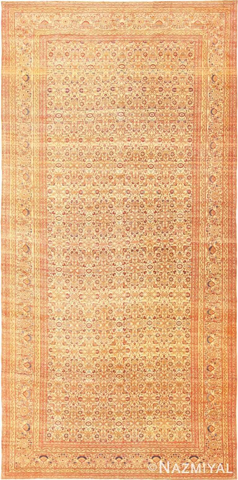 Fine Gallery Size Antique Persian Haji Jalili Tabriz Rug 49164 Nazmiyal