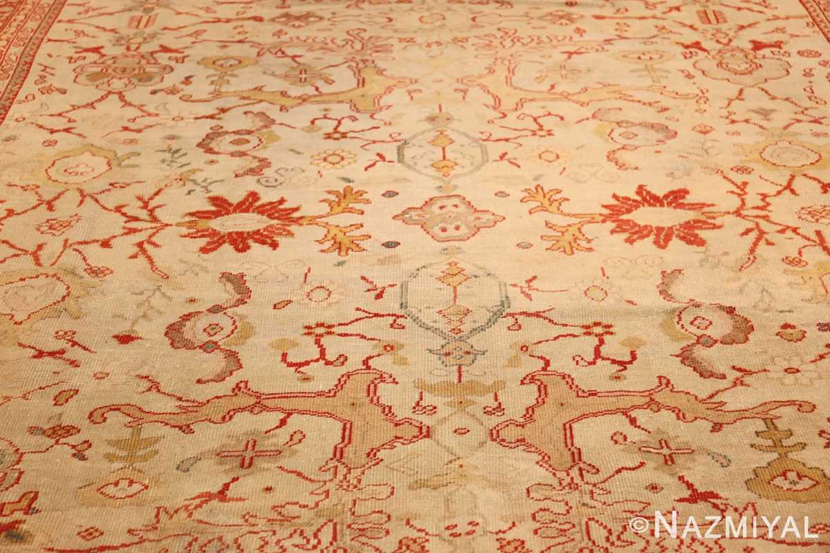 ivory background antique persian sultanabad rug 49163 field Nazmiyal
