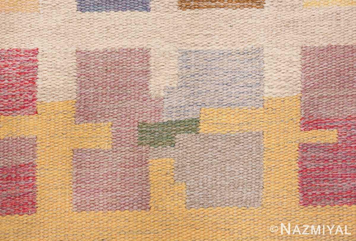 vintage scandinavian swedish kilim rug by agda osterberg 49123 violet Nazmiyal