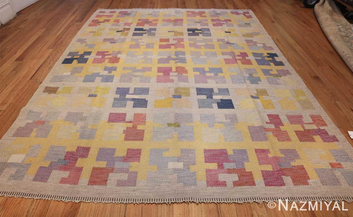 vintage scandinavian swedish kilim rug by agda osterberg 49123 whole Nazmiyal